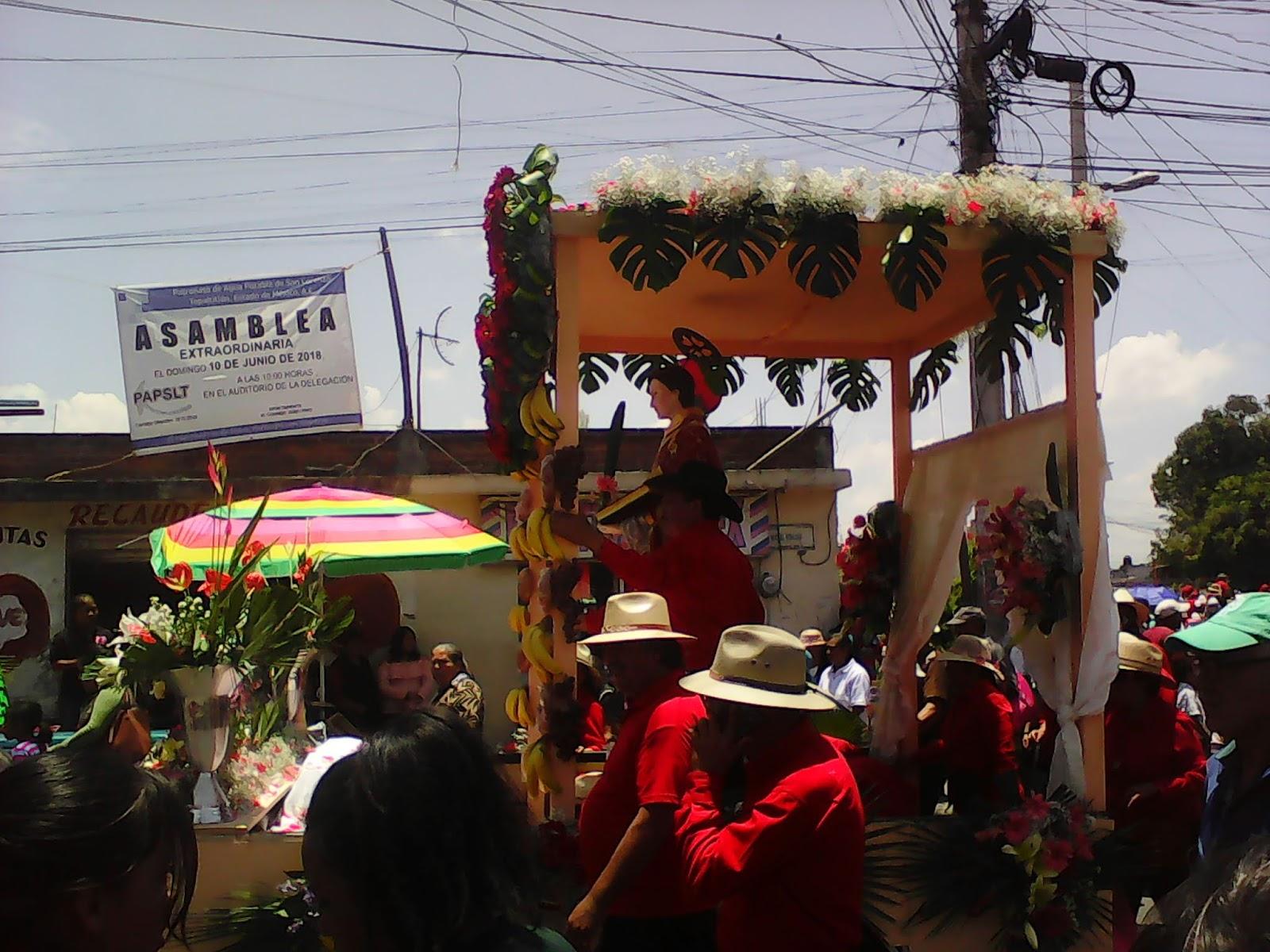 1a5442fcf656 Paseo de la Feria de San Lorenzo Tepaltitlán (2018)