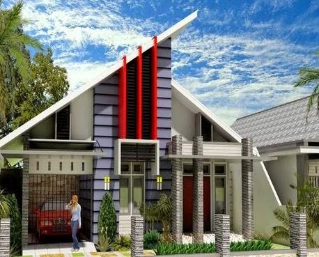 model rumah atap cor 5