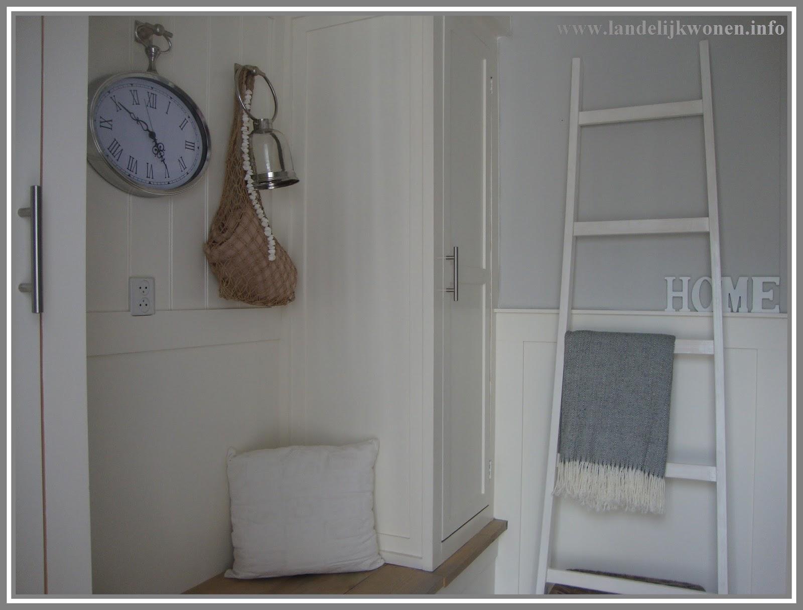 Zeer Landelijk Wonen: Interieur idee: Decoratieve Ladder zelf maken @VG75