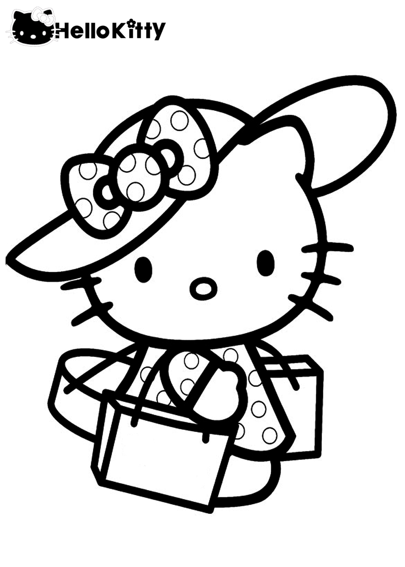 Tomas Tanaka: Hello Kitty Coloring Pages