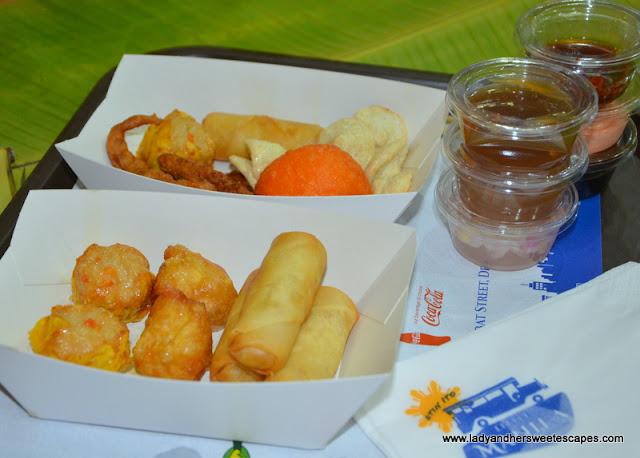 street food at Little Manila