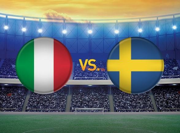 Come vedere ITALIA-SVEZIA Streaming Diretta Video TV Oggi 13 novembre 2017