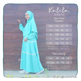 Kalila Dress Dewasa