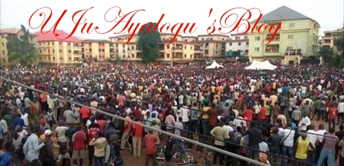 WATCH VIDEO...No Referendum, No Election in South-East - Nnamdi Kanu Says, Storms Anambra as Crowd Welcomes Him