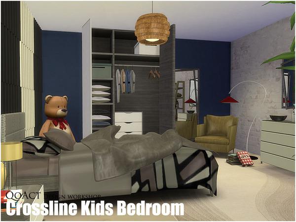 My Sims 4 Blog QoActs Crossline Kids Bedroom