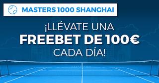 Paston promocion Masters 1000 de Shanghai 8-13 octubre