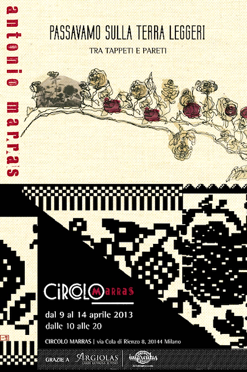 Milano Design Week - Passavamo sulla terra leggeri tra tappeti e pareti - Antonio Marras