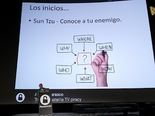 RootedCon 2016 - Andrés Tarasco: Tracking satelite TV piracy