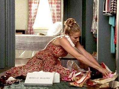 Zapatos de película. Fotograma de la serie Sexo en Nueva York ... 4f7ca3c8f762