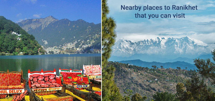 Nearby places to Ranikhet