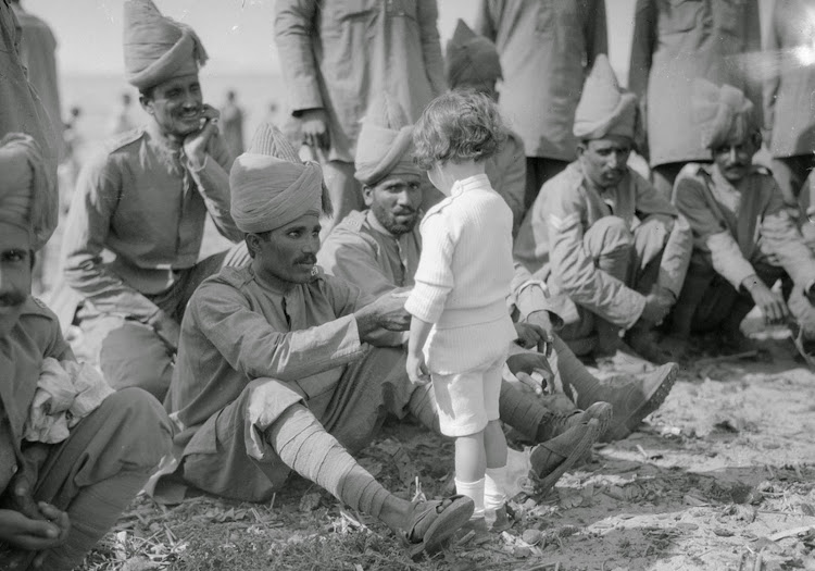 Indian Force in France 1914