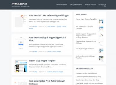 Blogku Blogger Template