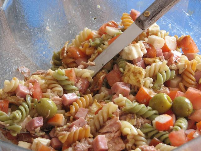 Receta de ensalada de pasta de verano
