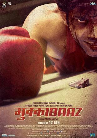 Mukkabaaz 2017 Full HDRip 720p Hindi Movie Download