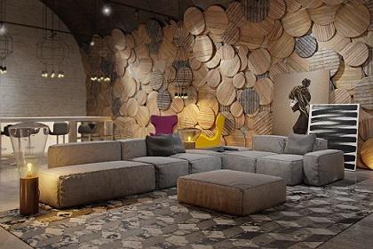 Fotos de salas con paredes decoradas salas con estilo for Paredes decoradas con fotos