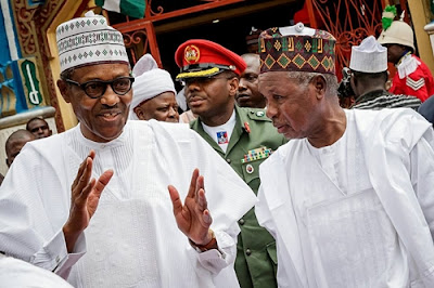 Photos From President Buhari's Visit To Rainstorm Victims In Katsina