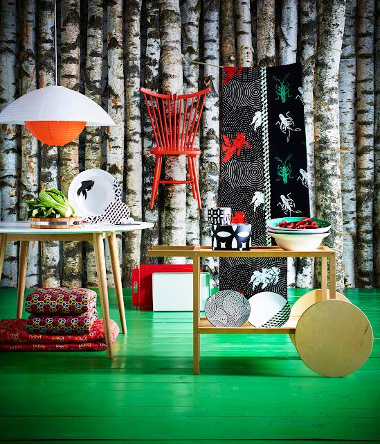 inspiración, Ikea, Tillfälle, Trendig2013, tropical, fabric, tela, Brasil, gataflamenca