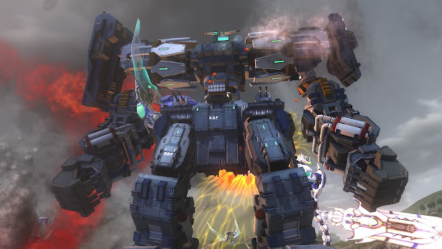 Earth Defense Force 4.1 The Shadow of New Despair PC Free Download Screenshot 3