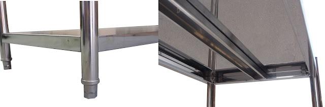 Jual rak Stainless Steel untuk Dapur resto, cafe, hotel & produksi