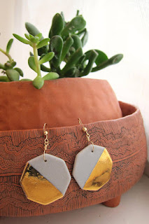 ceramic jewelry earrings