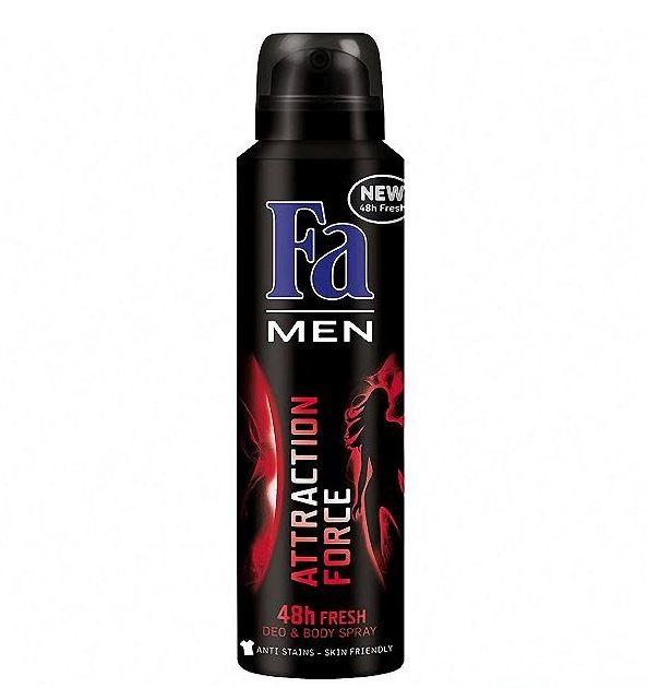 FA Men Attraction Force Body Spray 150 ML