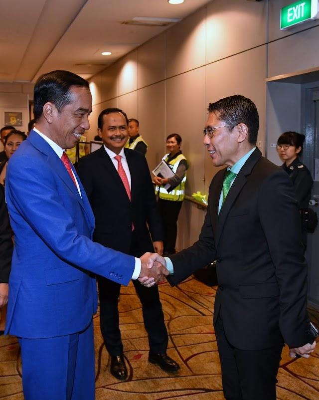 Tiba di Singapura, Presiden Akan Hadiri Jamuan Santap Malam dengan PM Lee Hsien Loong