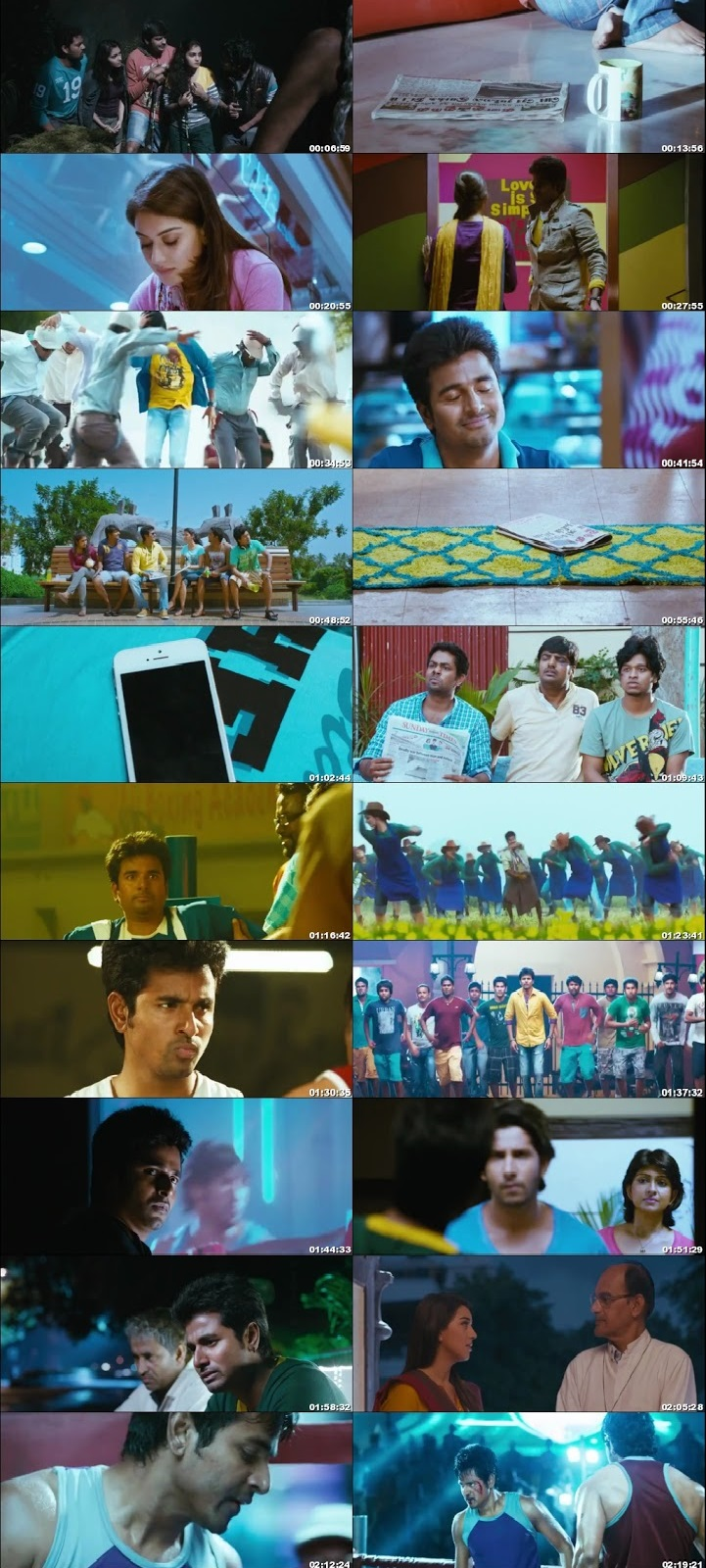 Screen Shot Of Tollywood Movie Maan Karate 2014 Full Movie In Hindi Dubbed Free download 720P HD