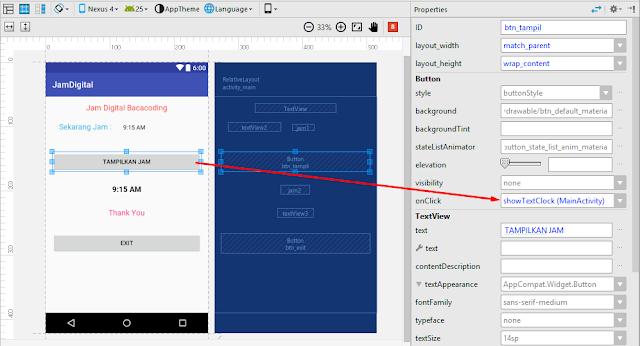 Cara Membuat Jam Digital Keren di Android Studio