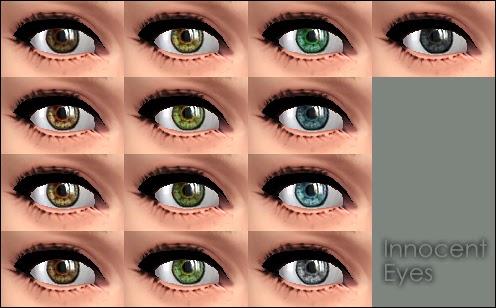 Innocent eyes makeup