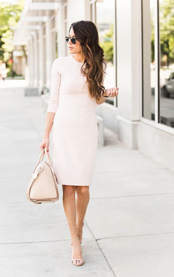 Hello Fashion Blush Givenchy Bag Street Style