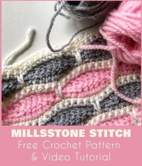Millstone Stitch - Free Pattern