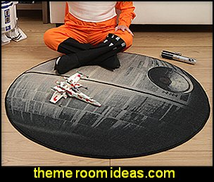 Star Wars Death Star Rug  Star Wars Bedrooms - Star Wars Furniture - Star Wars wall murals - Star Wars wall decals - Star Wars bed - space ships theme beds - Star Wars Bedroom - Star Wars Decor - Sci Fi theme bedrooms - alien theme bedrooms - Stormtrooper Star Wars Theme Beds - Star Wars bedroom decor