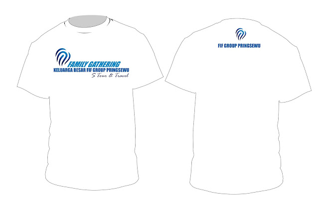 Design Kaos Family Gathering FIF Group Pringsewu