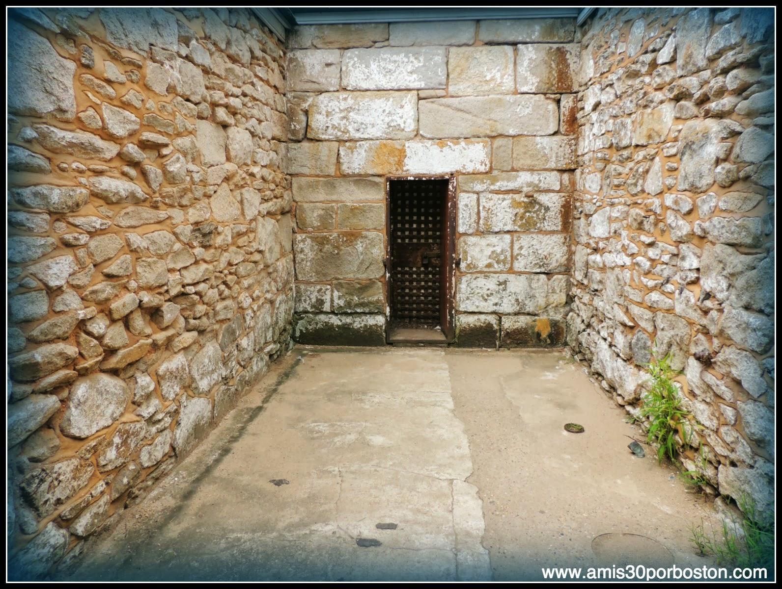 Patio Trasero Celda en  Eastern State Penitentiary, Filadelfia