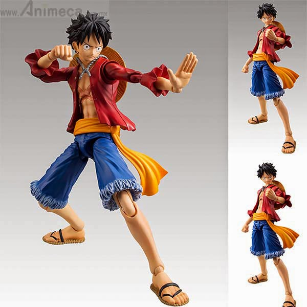 MONKEY D. LUFFY Variable Action Heroes FIGURE ONE PIECE MEGAHOUSE
