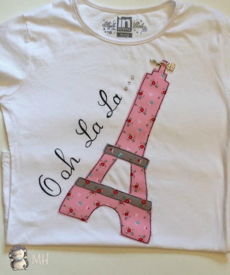camiseta París ohh la la