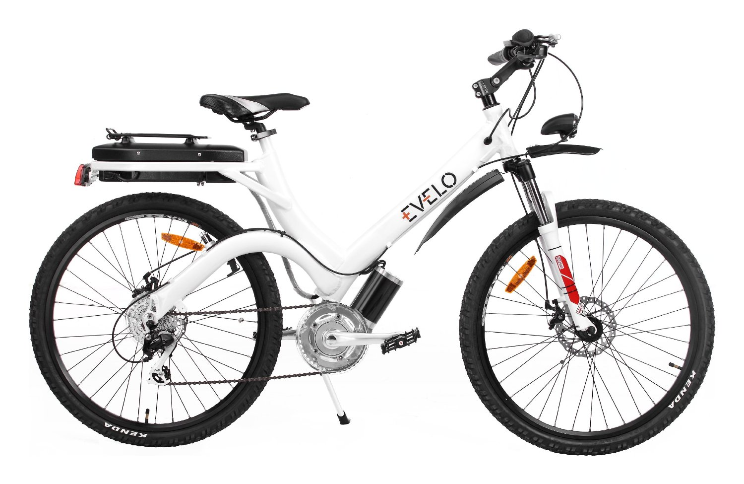 Evelo Aurora Premium E Bike With 8 Speed Drivetrain