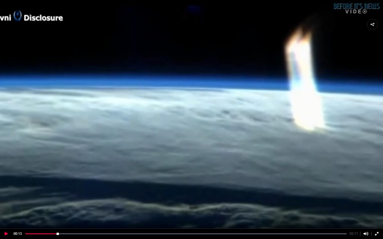 光明會 錫安長老會 聖羅馬帝國和NWO 及森遜密碼驗證: NASA國際空間站鏡頭捕捉到地球上空的星門