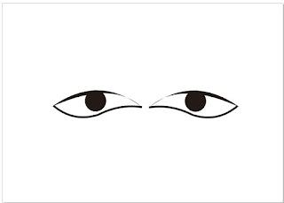 gambar mata vektor