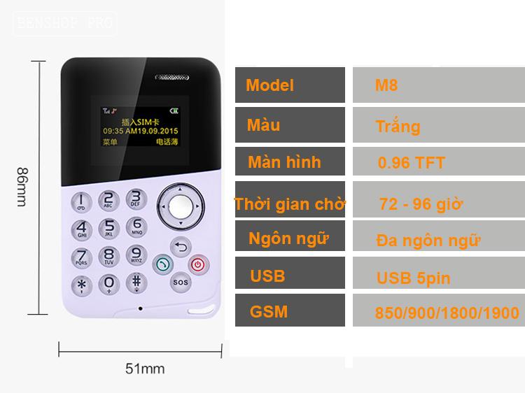 AEKU mini M8