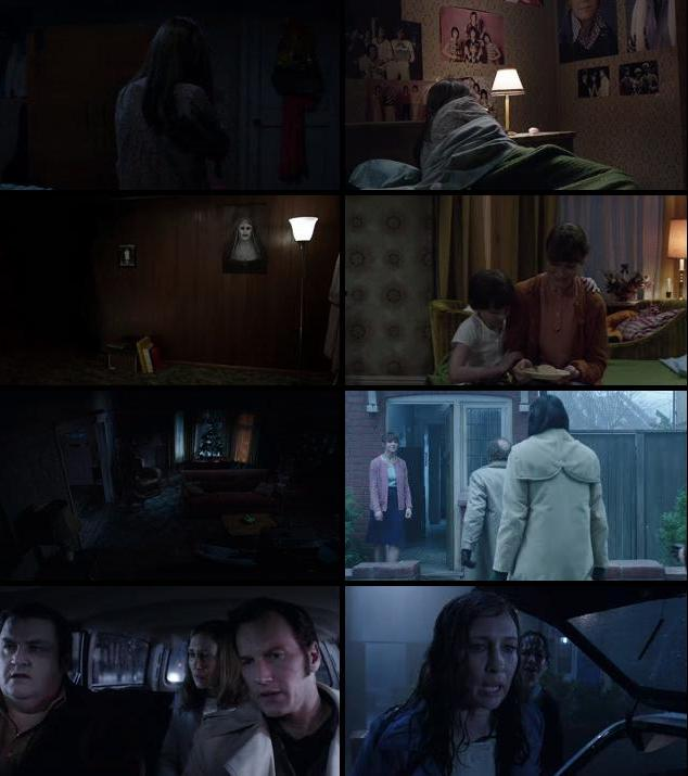 The Conjuring 2 2016 Dual Audio Hindi 480p BRRip 400mb