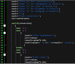Program that Convert cm to km