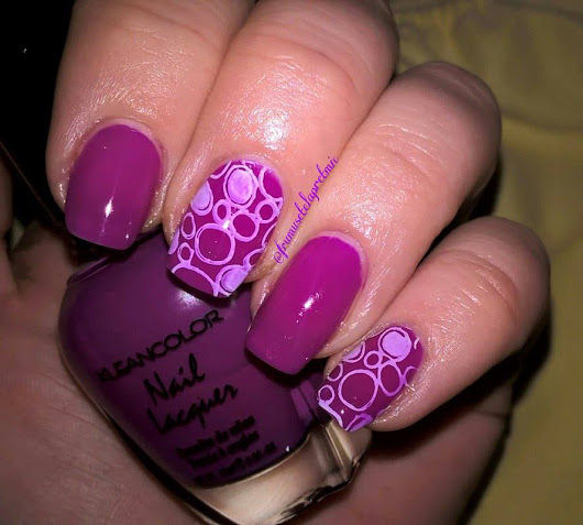 Unghiutze Colorate-Happy Nails: Purple Friday #11 - Guest Post by Madalina