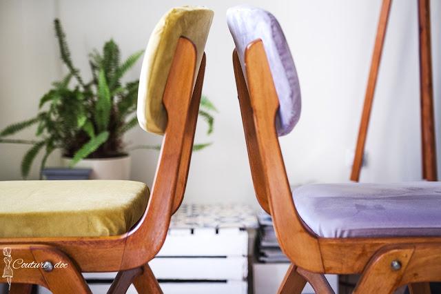 tapicerowanie, krzesła, diy