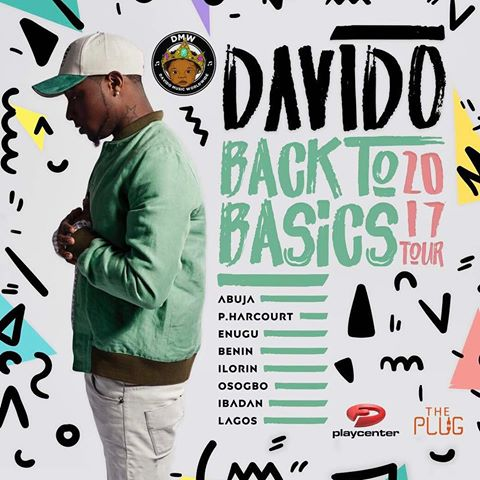 "Davido set to embark on a ""Back To Basics"" Tour of Various Cities in Nigeria This Year"