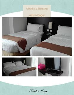 Tipe condotel di Aston Bogor