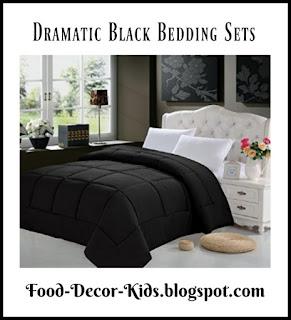 Black Bedding Sets Black Comforter Sets