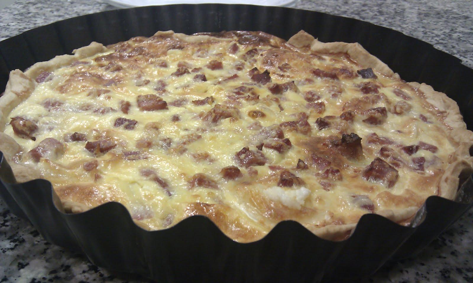 Cocina y listo quiche de jam n serrano y queso de cabra Cocinar queso de cabra