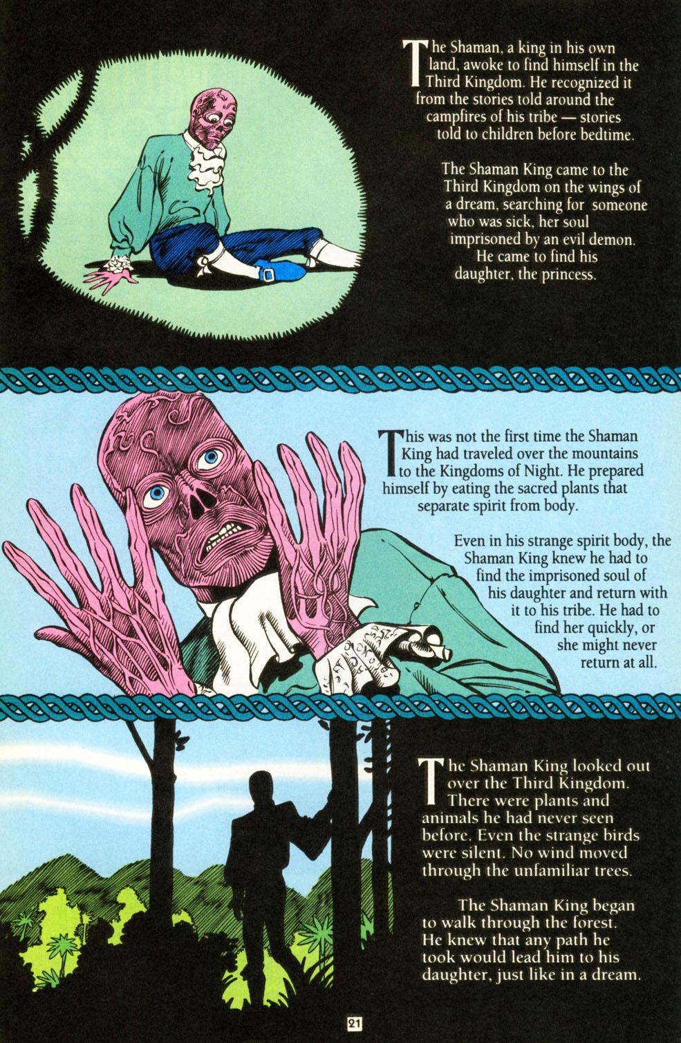 Read online Animal Man (1988) comic -  Issue #86 - 21