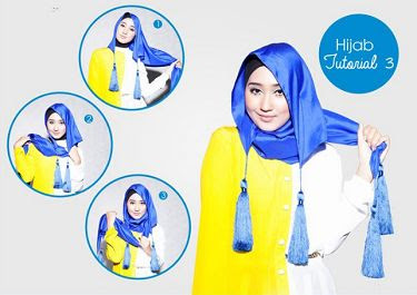 Tutorial Hijab Pashmina Simple Ala Dian Pelangi